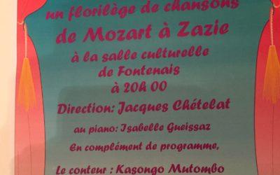 Concert Octobre 2017 Fontenais