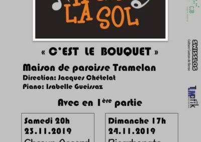 Concert Tramelan novembre 2019